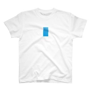 青い付箋 T-shirts