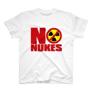 NO_NUKES T-shirts