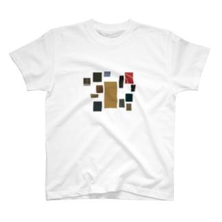 古布の習作A T-shirts