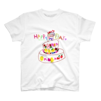 ハッピーケーキ T-shirts