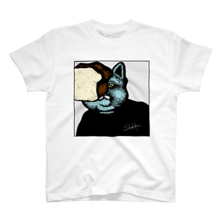避けれない猫 T-shirts
