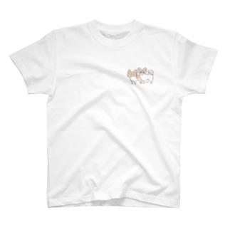 キノコとどんぐり T-shirts