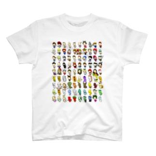 S4Uマスコットがたくさん T-shirts