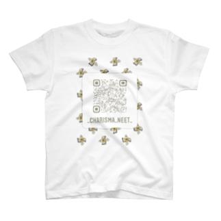 Charisma neet インスタQRコード 札束ver. T-shirts