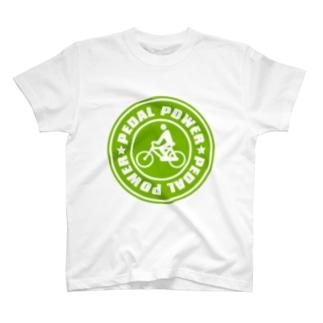 PEDAL_POWER T-shirts