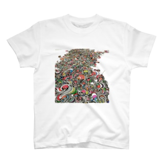 紋様 T-shirts