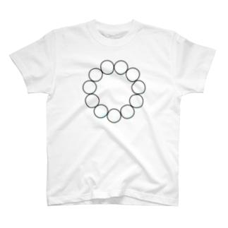 パール #サークル T-shirts