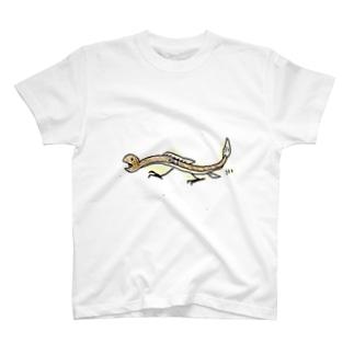 二足歩行ウナギ T-shirts