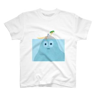 ハトくんと島 T-shirts