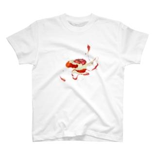 MEG♀のりんごの絵。 T-shirts