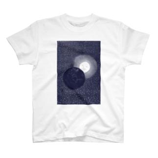 月世界旅行<ジュール・ヴェルヌ> T-shirts