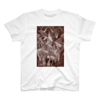 地底旅行<ジュール・ヴェルヌ> T-shirts