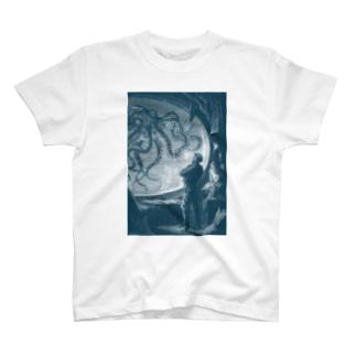 海底二万マイル<ジュール・ヴェルヌ> T-shirts