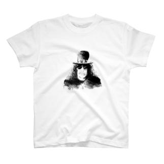 ハードロックギタリスト スラッシュ T-shirts