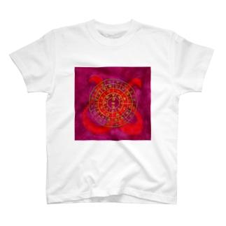 フトマニ・ウ(ヲシテ文字) T-shirts