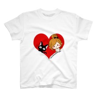 なかよしハート T-shirts