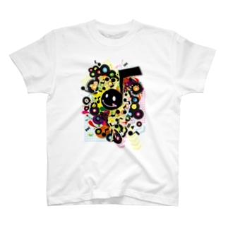 AURA_HYSTERICAのQuaver T-shirts