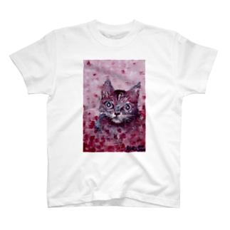 ねこ[ルル] T-shirts