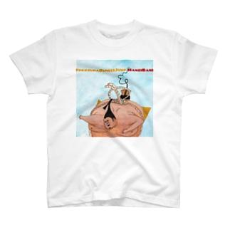 横綱バンジージャンプ T-shirts