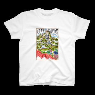 とよだ 時【ゆ-もぁ-と】の山岳伝承漫画「神奈川県・丹沢大山は雨降り山」 Tシャツ