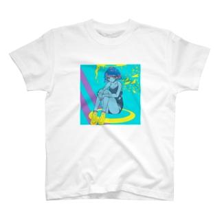 発光少女 T-shirts