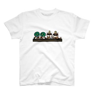 マガモちゃんママトーク withパパ T-shirts