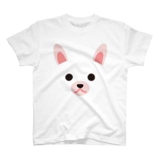干支アップ-卯-animal up-アニマルアップ- T-shirts