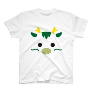 干支アップ-辰-animal up-アニマルアップ- T-shirts