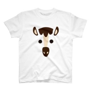 干支アップ-午-animal up-アニマルアップ- T-shirts