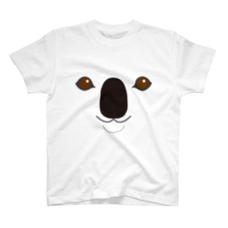 KOALA-animal up-アニマルアップ- T-shirts