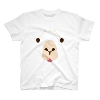 ALPACA-animal up-アニマルアップ- T-shirts