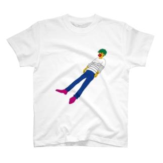 アメリカフヨウ T-shirts