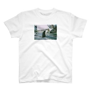 寺町二丁目の黒ねこさま T-shirts