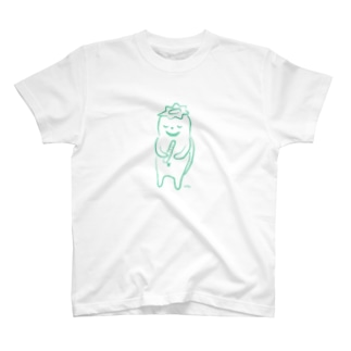 むーむーおばけ<おいしそうなきゅうり> T-shirts