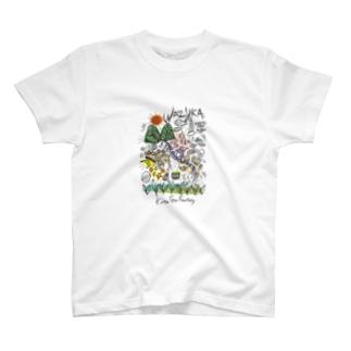 絵が小さめ T-shirts