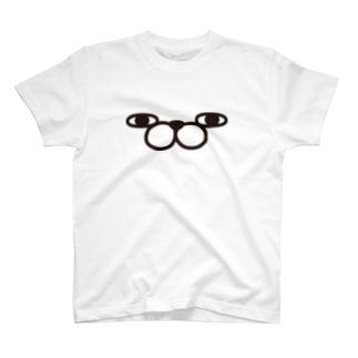 うさぎ100%ザフェイス T-shirts