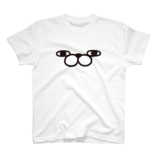 ヨッシースタンプのうさぎ100%ザフェイス T-shirts