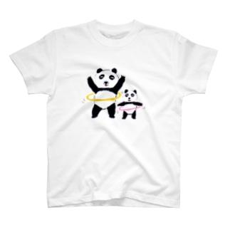 フラフープパンダ T-shirts