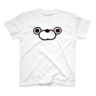 くま100ザフェイス Tシャツ