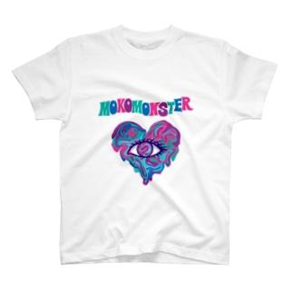 マーブルハート Tシャツ T-shirts