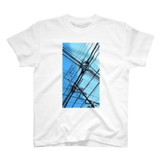 電柱 5A T-shirts