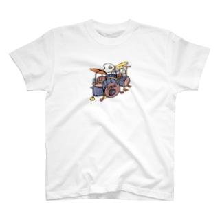 ポンコツドラム T-shirts