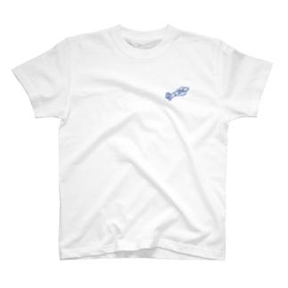 SURUME RECORDS_bl T-shirts