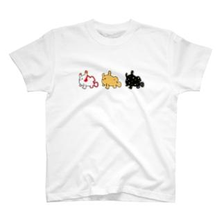 カエルアンコウ三兄弟 T-shirts