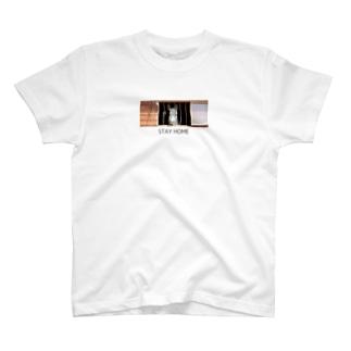 STAY HOME エルダver T-shirts