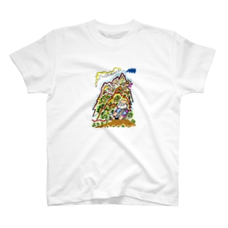 山旅漫画(2)  Tシャツ