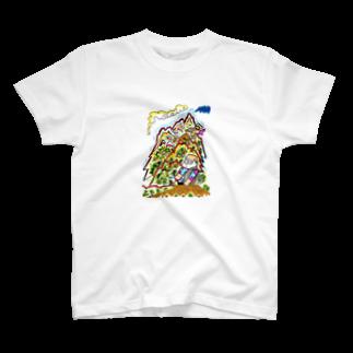 とよだ 時【ゆ-もぁ-と】の山旅漫画(2)  T-shirts