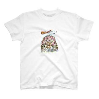 山旅漫画(3) T-shirts