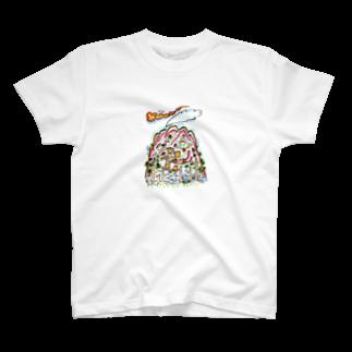 とよだ 時【ゆ-もぁ-と】の山旅漫画(3) Tシャツ