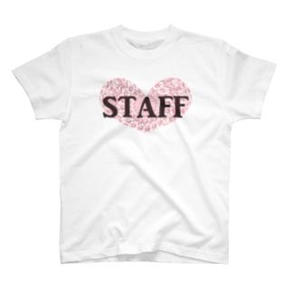 Staff(ピンク) T-shirts